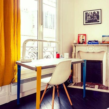 architecte paris 18, montmartre appartement  vendre, décorateur paris, décoration arty