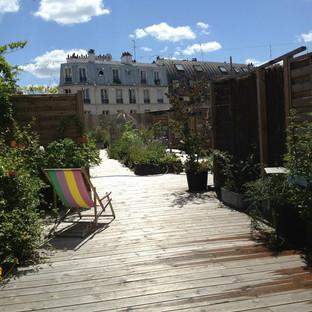 """Paris, Toit terrasse """"Après"""""""
