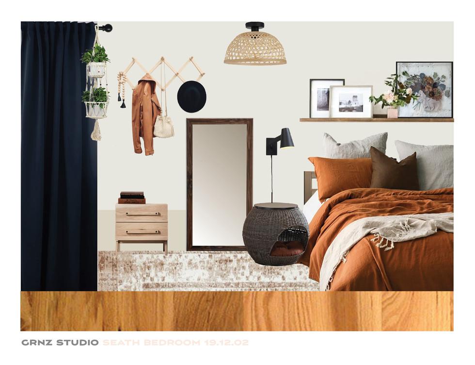 Seath Bedroom. Toronto, Canada.