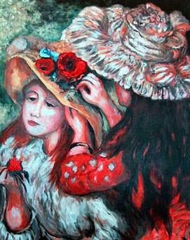 Renoir's The Hat Pin