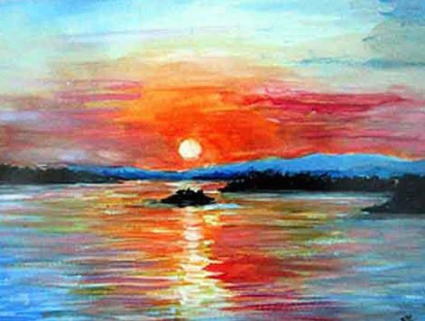 Ottawa River Sunset for Claire Lewis