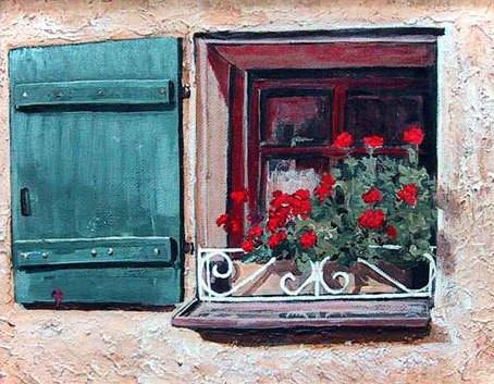 Colorful Window Box