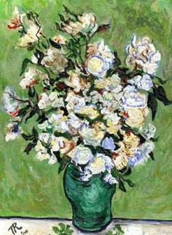 Roses after Vincent VanGogh