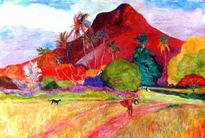 Tahitian Landscape