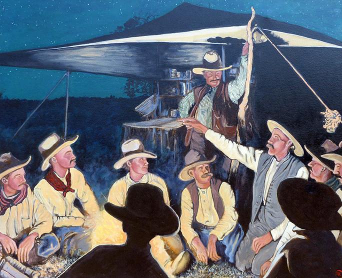 Paintings by American Artist Tom Roderick