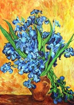 Iris after Vincent VanGogh
