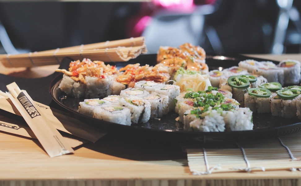 Tokyo Joes Sushi Platter