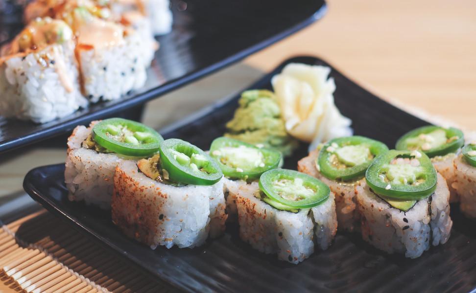 Tokyo Joes Sushi Rolls