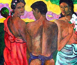 Gauguin's Three Bathers