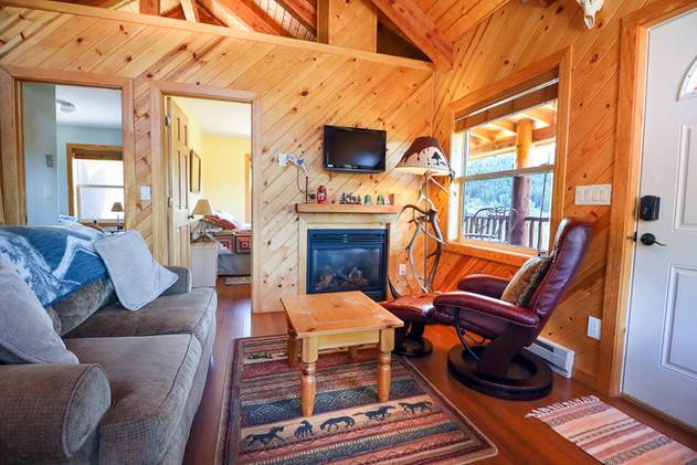 Come visit the Colorado Cabin