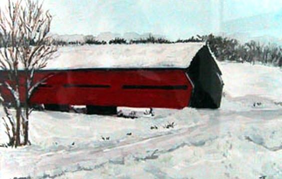 Covered Bridge Davidson Quebec