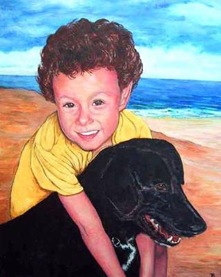 Eli and his Dog