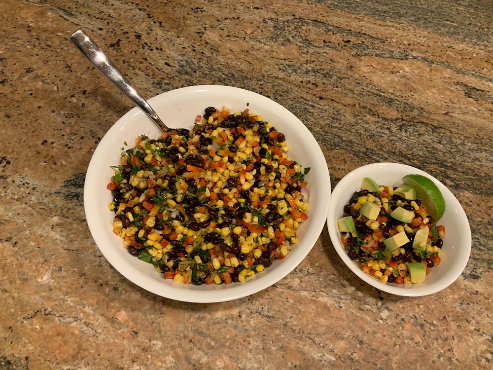 Bean & Corn Salad