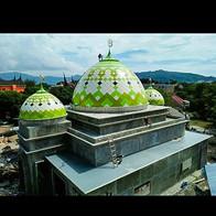 Kubah Masjid Kantor Gubernur Sumatera Barat