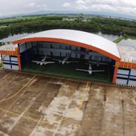 Hanggar Politeknik Penerbangan Makassar