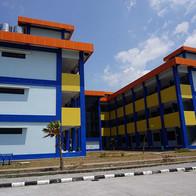 Gedung Kelas Politeknik Penerbangan Makassar