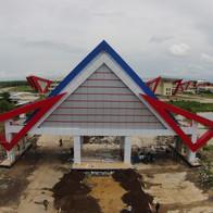Gerbang Utama Politeknik Ilmu Pelayaran Makassar