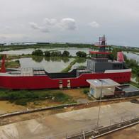 Gedung Kapal Politeknik Ilmu Pelayaran Makassar