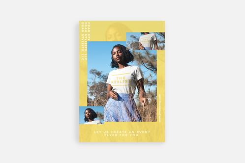 Flyer Design (Single-Design Only)
