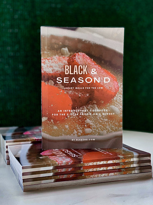 Client: BLK SZNS Cook Book
