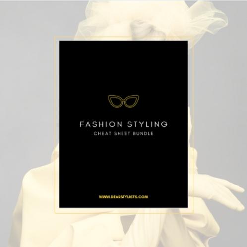 Fashion Styling Cheat-Sheet Bundle
