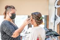 Hair and Airbrush makeup