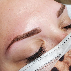 Powder Brow after
