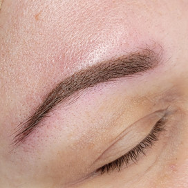 Powder brow annual touch up