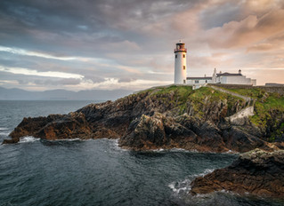 Fanad Head Lighthouse Sunset