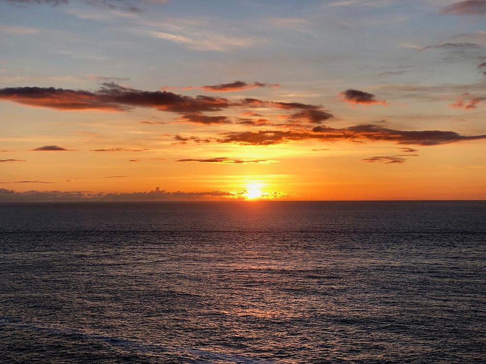 Sunset at Malin Head