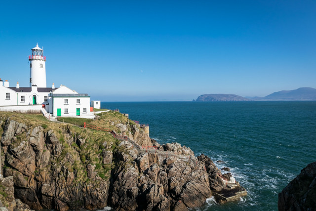Fanad Head Lighthouse landscape photograph