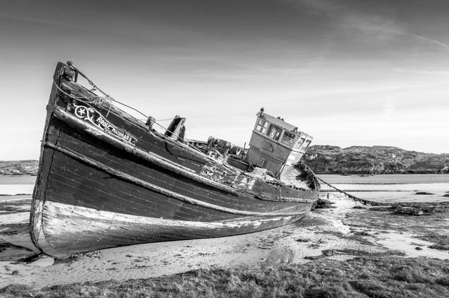 Cruit Isalnd Boat Wreck