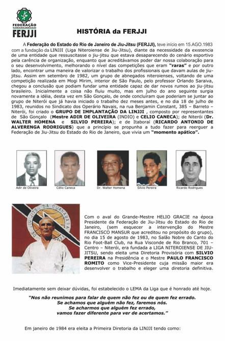 História da FERJJI - pág 1