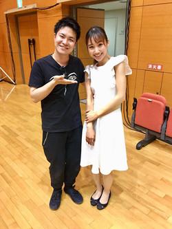 With Masayuki Nino