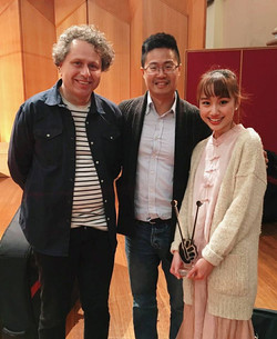 With Steve Falk and Wei Chen Lin