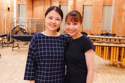 With Tomoko Nakamura Sensei