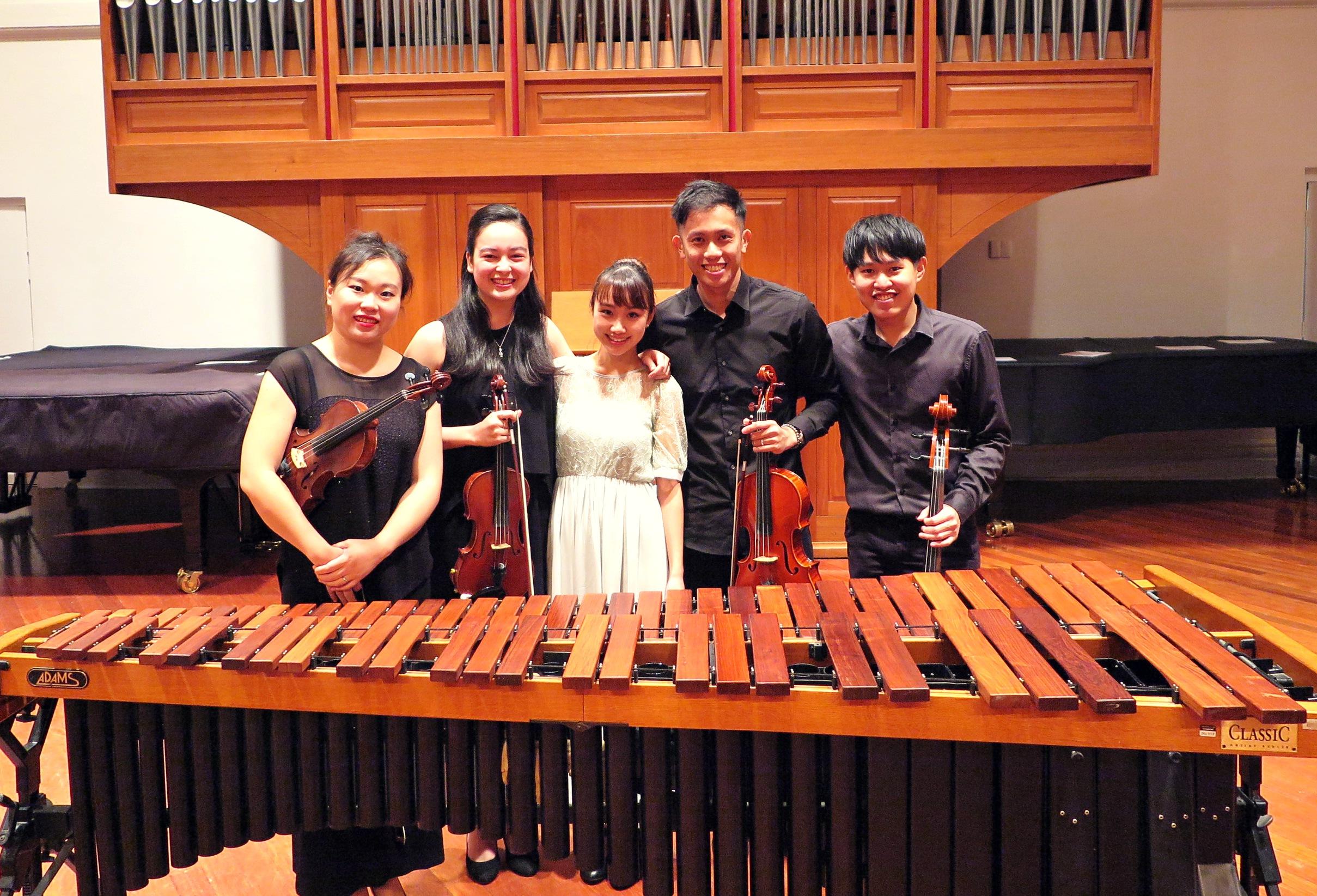 Marimba Solo and Quintet Recital