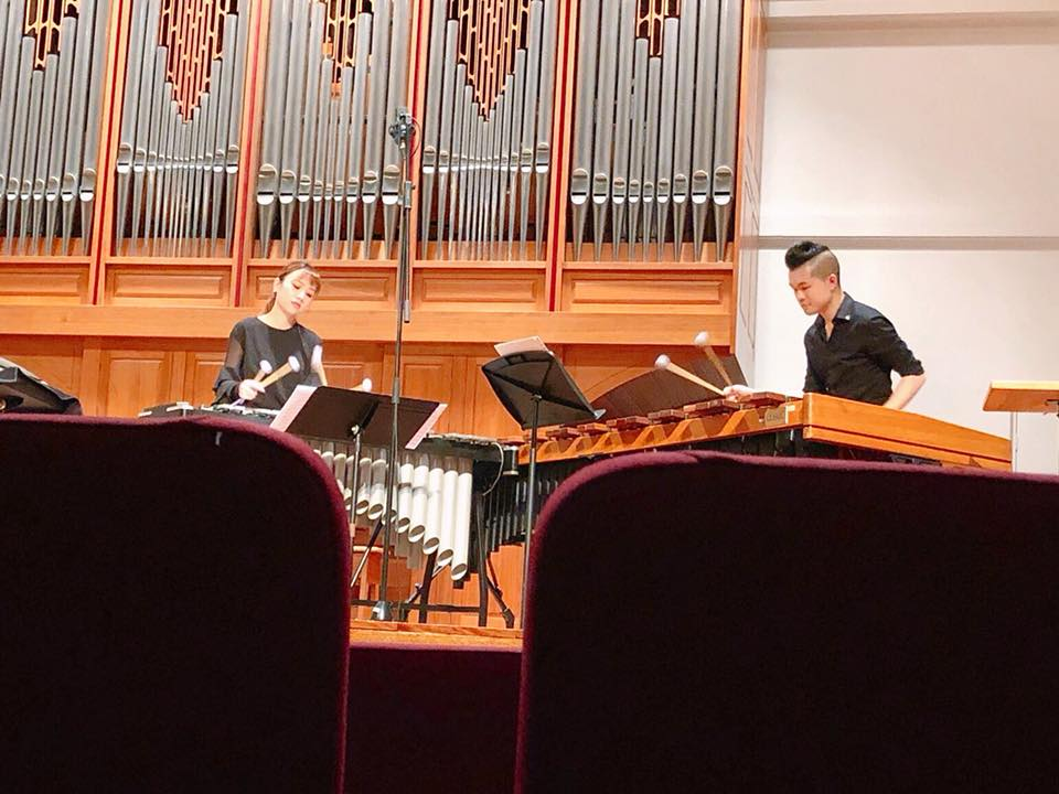 Piazzolla duo with Matthew