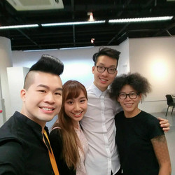 with Matthew Lau and Margie Tong