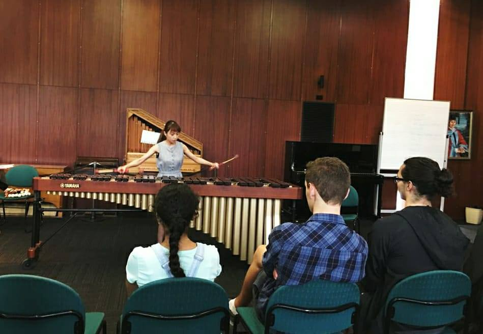 Masterclass at UWA Perth