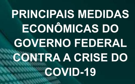 Cartilha com as medidas do Governo - Covid 19