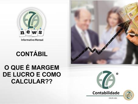 CONTÁBIL - O QUE É MARGEM DE LUCRO E COMO CALCULAR?