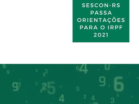 Orientações IRPF 2021