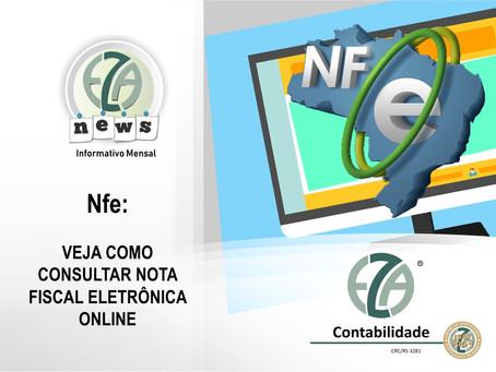 CADASTRO - NFe: VEJA COMO CONSULTAR NOTA FISCAL ELETRÔNICA ONLINE