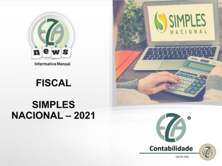 SIMPLES NACIONAL – 2021