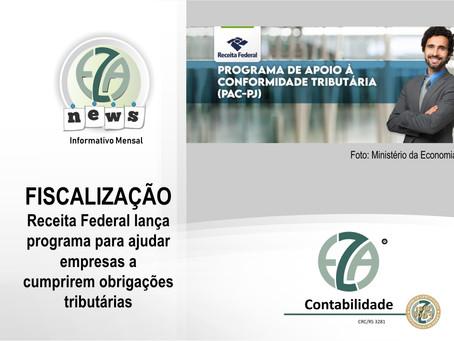 Fiscalização: Receita Federal lança programa para ajudar empresas a cumprirem obrigações tributárias