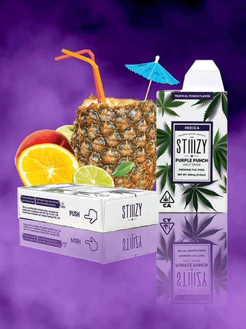 Stiiizy - Purple Punch - Indica Pod - Tropical Punch Flavored
