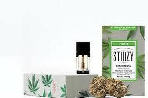Stiiizy - Strawnana - Flavored Hybrid Pod
