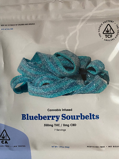 The Cookie Factory - Blueberry Sourbelts