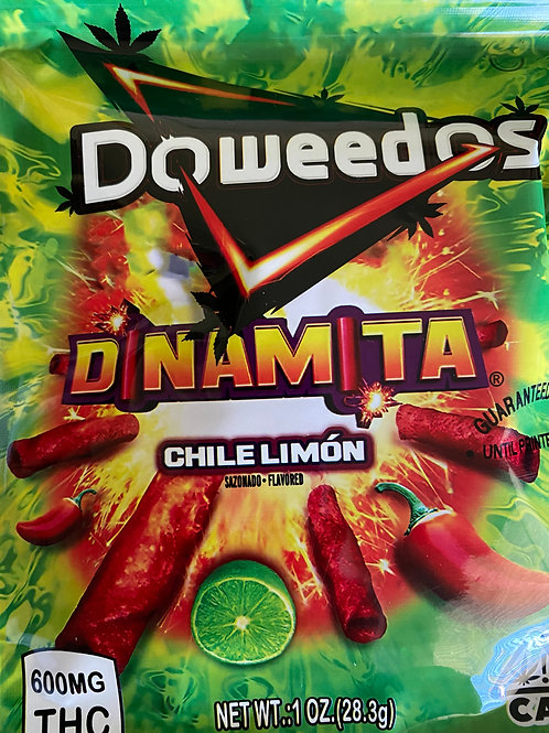DoWeedos - Dinamita - Chile Limon - 300 MG THC